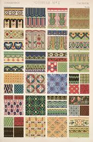 ornaments patrones geometricos patrones