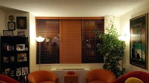 Window Bay Curtains Window Blinds Windows Curtains Blinds Wood Living Room Window