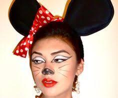 Cute Minnie Mouse Halloween Costume Minnie Mouse Inspired Eye Makeup Art Eye Art Eye