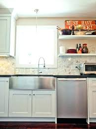 stainless steel apron sink stainless apron front sink black farmhouse sink apron front sink