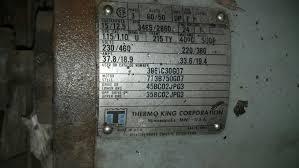 thermo king westinghouse generator sudp smokstak