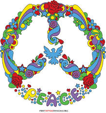 peace sign design recipes to cook peace