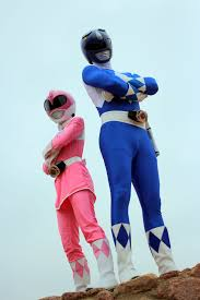 power ranger duo blue pink scratch896 deviantart