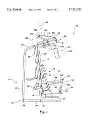 patent us5733229 exercise apparatus using body weight resistance