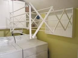 wall mount drying rack for laundry room creeksideyarns com