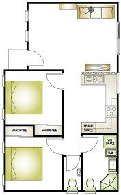 Two Bedroom Granny Flat Floor Plans Granny Flat Layout Grannyflatsolutions