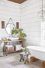 rustic modern farmhouse bath tour 5 easy ways to style a modern farmhouse bathroom