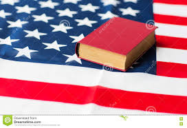 Flag Book Close Up Of American Flag And Book Stock Image Image 77726165