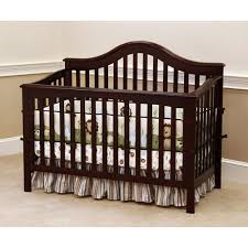 Convertible Crib Walmart Child Of Mine By S Jamestown 4 In 1 Convertible Crib Black