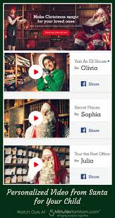 free personalized video from santa for your child 5 minutes for mom
