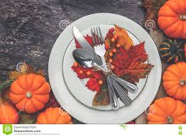 Thanksgiving Table Setting by Thanksgiving Table Setting Stock Photo Image 79595470