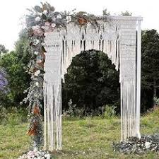 wedding backdrop arch wedding ceremony backdrops macramae macrame wedding backdrop