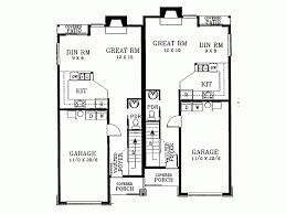narrow lot duplex plans pleasant 10 narrow lot duplex house plans