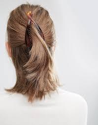 banana clip hair asos basics banana clip best 90s hair accessories popsugar