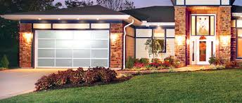 Glass Overhead Garage Doors Contemporary Modern Garage Doors Aluminum And Glass Style Door