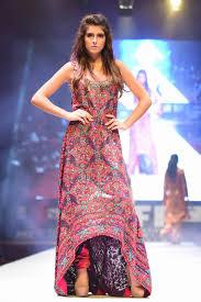 latest designer dresses at pakistan fashion week 2015
