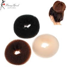 hair bun donut hair bun ring sponge shaper hair styling maker us 6 10 sold out