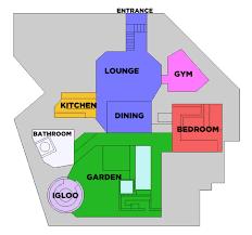 floor plans of celebrities houses