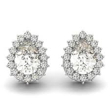 teardrop diamond earrings pear earrings shop the best deals for nov 2017 overstock