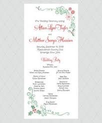 Christmas Wedding Programs Winter Wedding Programs Wedding Pinterest Winter Wedding