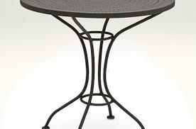 Black Metal Bistro Table Black Bistro Table No29sudbury