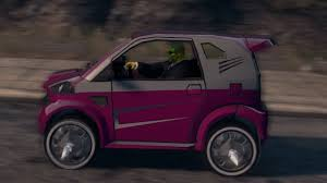 smart car pink saint u0027s row 3 gylden buddha i pimped pink smart car youtube