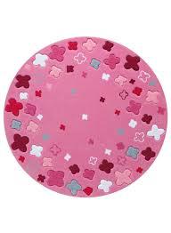 tapis rond chambre bébé tapis rond chambre enfant bloom field de la collection esprit