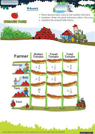 organic farm math worksheet for grade 5 free u0026 printable worksheets