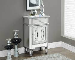 small accent cabinet with doors mirrors hand painted mirrored drawer accent chest carlisle