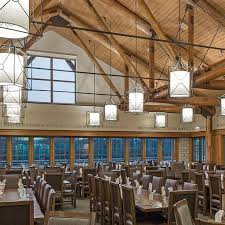 timber dining room at lied lodge u0026 conference center restaurant