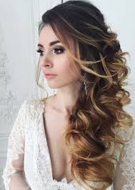 side swoop hairstyles large curly side swept hairstyle looks gorgeous and fits any
