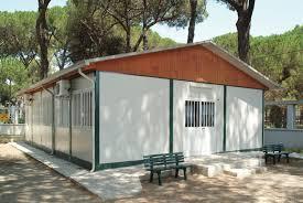 cottage prefabbricati monoblocchi officine romane divisione prefabbricati