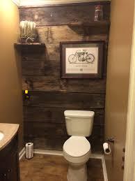 Diy Powder Room Remodel - powder room renovation with barn wood diy pinterest barn