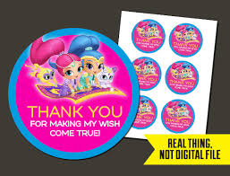 birthday stickers shimmer and shine stickers shimmer and shine birthday