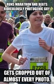 Running Marathon Meme - ridiculously photogenic guy zeddie little know your meme