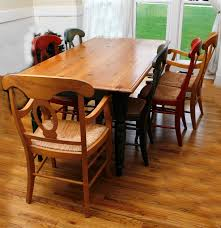 Pottery Barn Dining Room Tables Pine Country Style Dining Table And Pottery Barn Napoleon Chairs