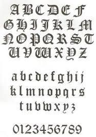 imagenes goticas letras como hacer letras goticas tutorial calligraphy fonts and journal