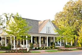 southern living house plans wrap around porches homeca