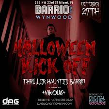 halloween party at haunted barrio in wyndwood tickets fri oct 27