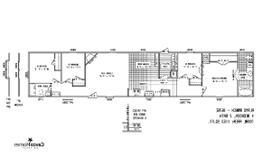 4 Bedroom 2 Bath Mobile Homes Bedroom Single Wide Mobile Homes Floor Plans With 4 Interalle Com