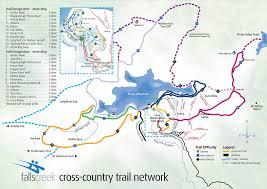 Fall Creek Falls Map Falls Creek Ski Map Australia Oceania