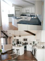 vacation home kitchen design kitchen before after our flagstaff vacation home the tomkat