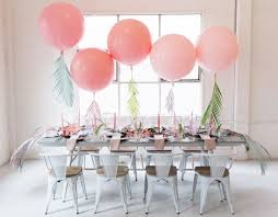 yes balloons make really beautiful and really affordable