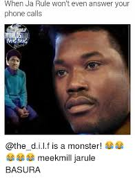 Answer Your Phone Meme - when ja rule won t even answer your phone calls is a monster