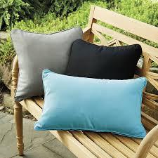piped outdoor pillows ballard designs