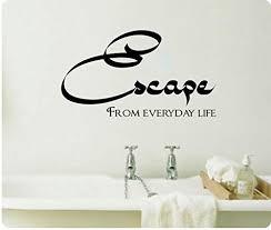 Spa Art For Bathroom - spa decor for bathroom amazon com