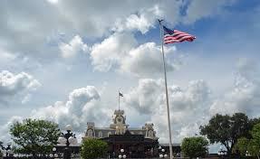 Disney Flag Today U0027s Disney Photo 2 U S Flags Flying High Mk U2013 A Gator In Naples