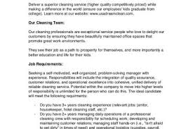 Janitor Job Duties Resume by Cleaning Job Description For Resume Reentrycorps
