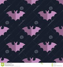 seamless bat background tile halloween pattern stock vector
