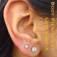 second earrings best 25 second piercing ideas on ear peircings